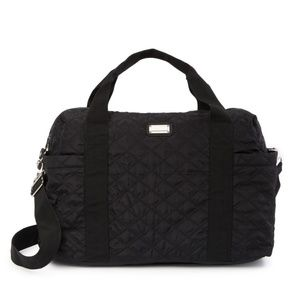 Madden Girl Quilted Weekend Tote / Travel Bag